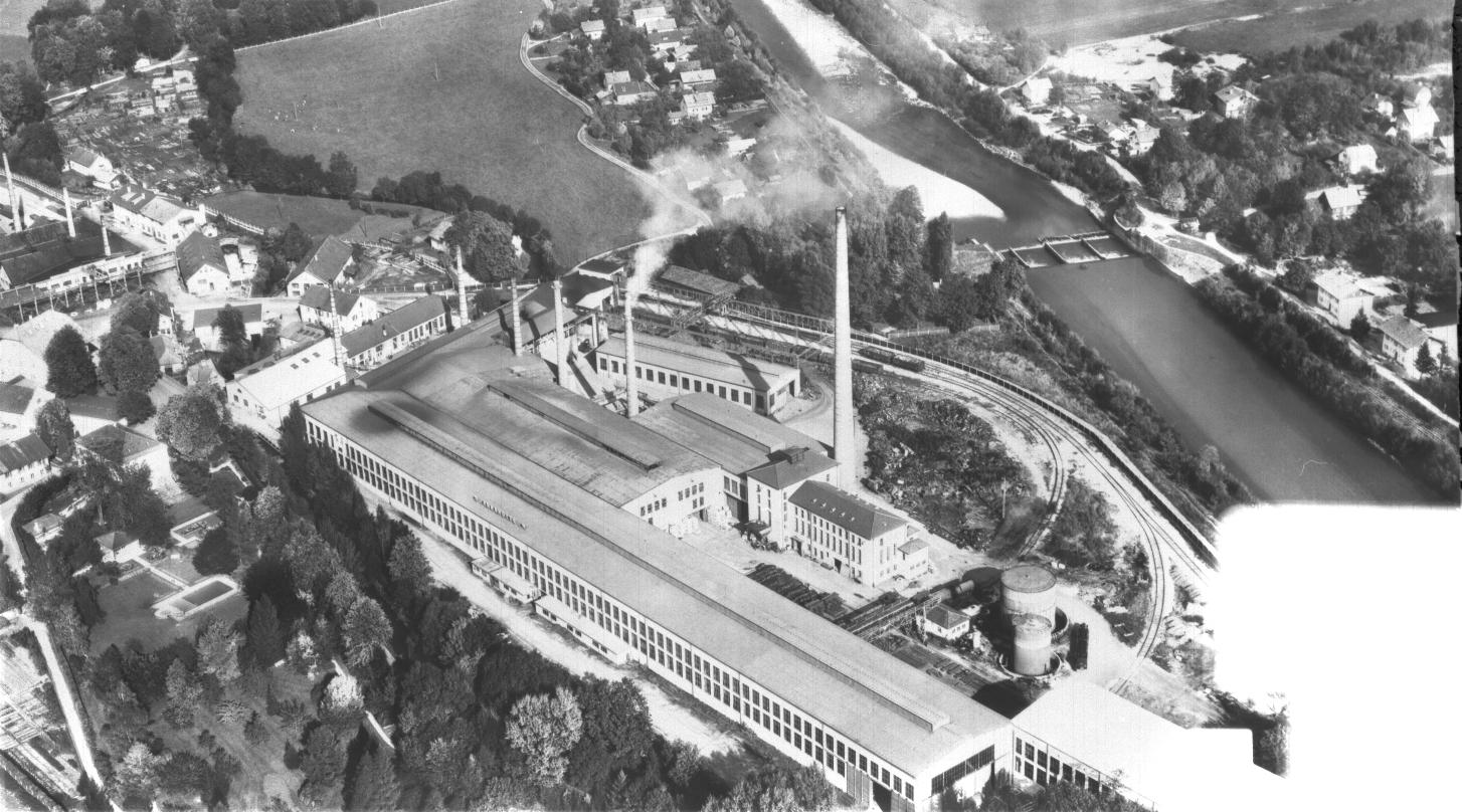 Luftaufnahme 1955