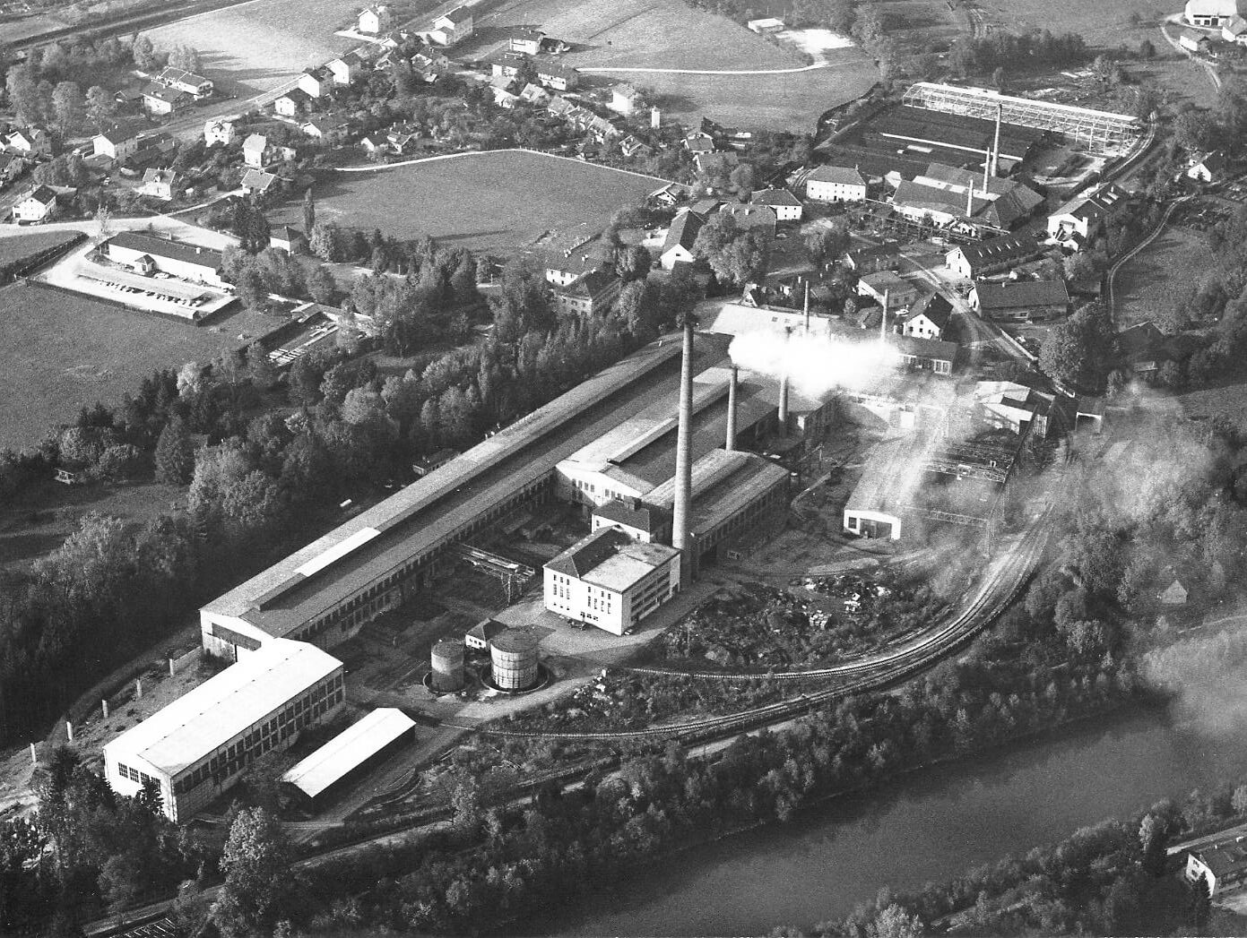 Luftaufnahme 1971